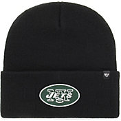 '47 Men's New York Jets Carhartt Black Knit Hat