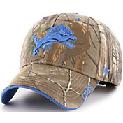 '47 Men's Detroit Lions Frost Realtree Adjustable Camouflage Hat