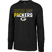 '47 Men's Green Bay Packers Club Long Sleeve Green Shirt