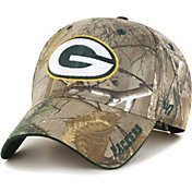 '47 Men's Green Bay Packers Frost Realtree Adjustable Camouflage Hat