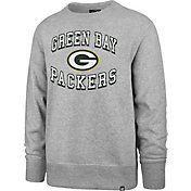 '47 Men's Green Bay Packers Headline Grey Crew
