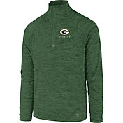 '47 Men's Green Bay Packers Impact Green Quarter-Zip Pullover