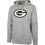 '47 Men's Green Bay Packers Imprint Grey Hoodie