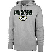 '47 Men's Green Bay Packers Pregame Grey Hoodie