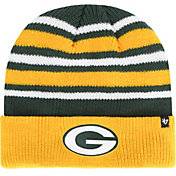'47 Men's Green Bay Packers Rotation Green Cuffed Knit