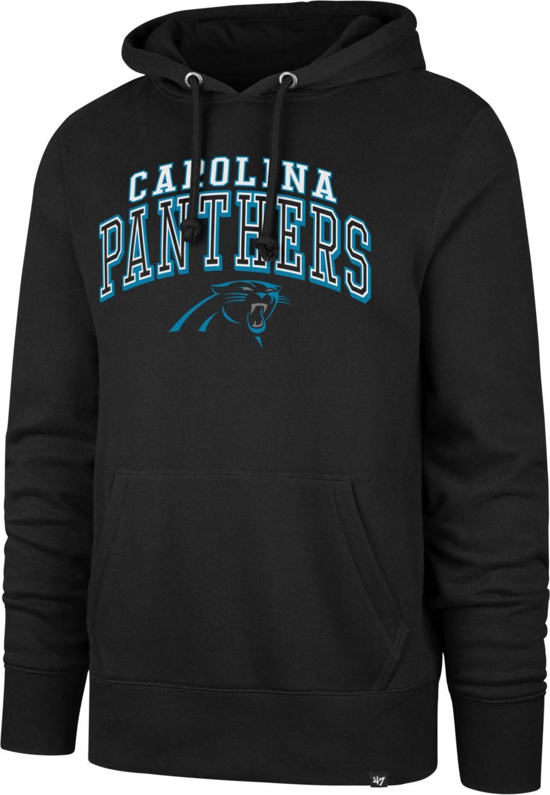 9e3412a2 '47 Men's Carolina Panthers Headline Black Hoodie