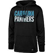 '47 Men's Carolina Panthers Tech Fleece Black Performance Hoodie
