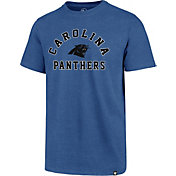 '47 Men's Carolina Panthers Club Arch Blue T-Shirt