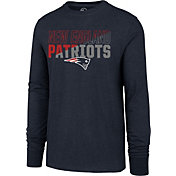 '47 Men's New England Patriots Club Long Sleeve Navy Shirt