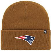 '47 Men's New England Patriots Carhartt Brown Knit Hat