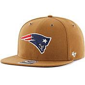 '47 Men's New England Patriots Carhartt Captain Adjustable Brown Hat