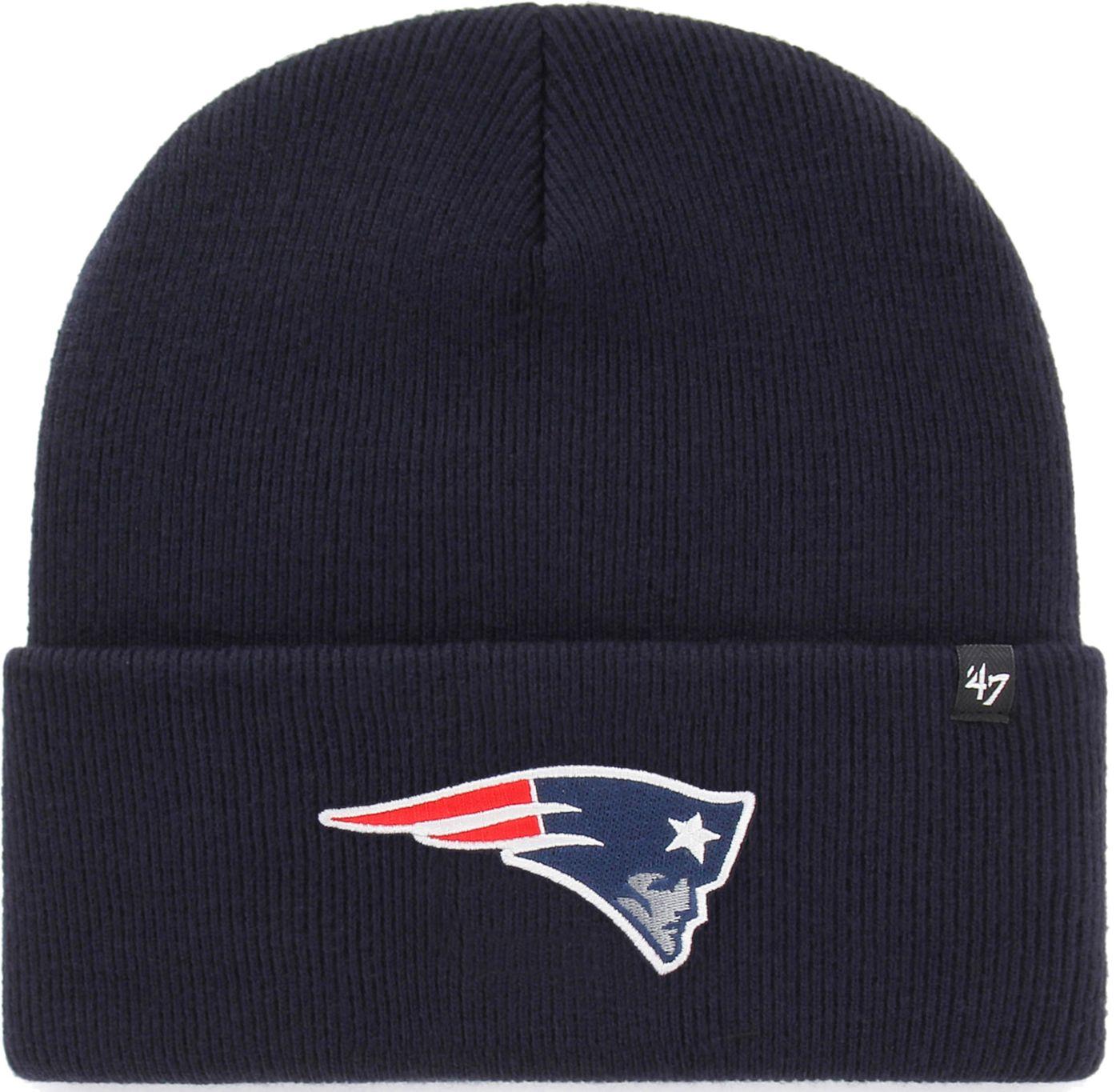 '47 Men's New England Patriots Carhartt Navy Knit Hat