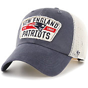 '47 Men's New England Patriots Crawford Clean Up Adjustable Navy Hat