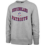 '47 Men's New England Patriots Headline Grey Crew