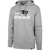 '47 Men's New England Patriots Still Here Grey Hoodie