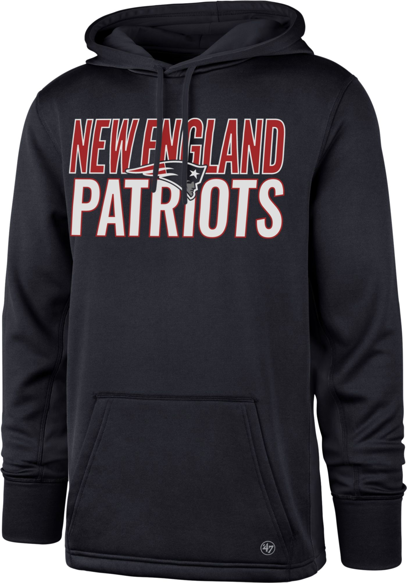 '47 Men's New England Patriots Tech Fleece Navy Performance Hoodie