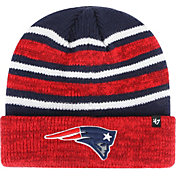 '47 Men's New England Patriots Rotation Navy Cuffed Knit