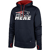 '47 Men's New England Patriots Still Here Navy Hoodie