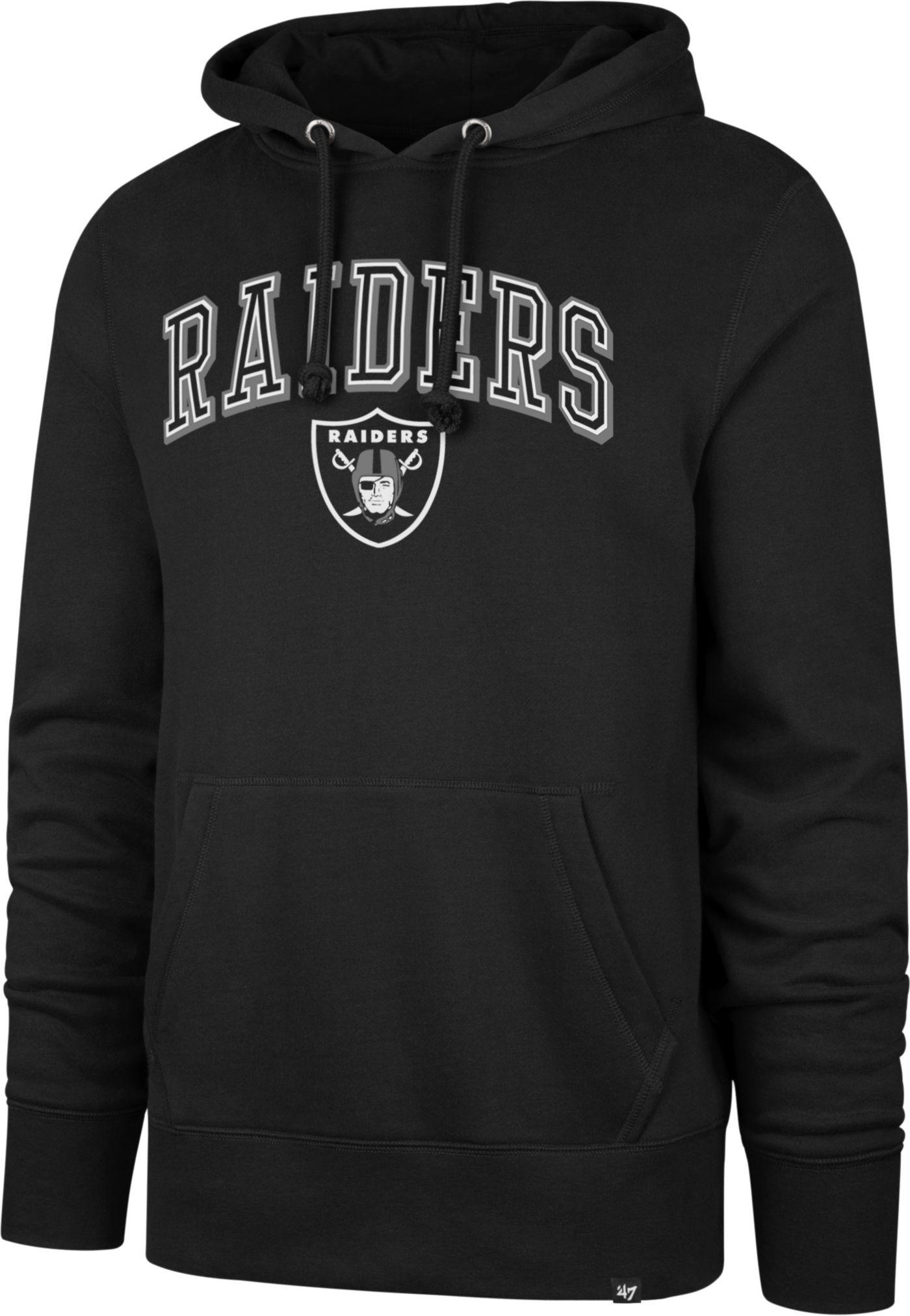'47 Men's Oakland Raiders Headline Black Hoodie