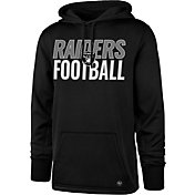 '47 Men's Oakland Raiders Tech Fleece Black Performance Hoodie