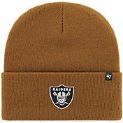 '47 Men's Oakland Raiders Carhartt Brown Knit Hat