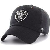 '47 Men's Oakland Raiders Carhartt Clean Up Adjustable Black Hat