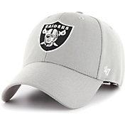 '47 Men's Oakland Raiders MVP Grey Adjustable Hat