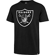 47 Men's Oakland Raiders Scrum Logo Black T-Shirt