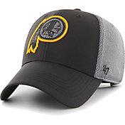 '47 Men's Washington Redskins Arlo MVP Adjustable Black Hat