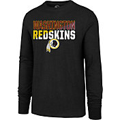 '47 Men's Washington Redskins Club Long Sleeve Black Shirt