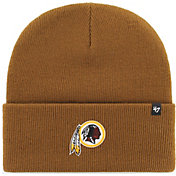 '47 Men's Washington Redskins Carhartt Brown Knit Hat