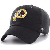 '47 Men's Washington Redskins Carhartt Clean Up Adjustable Black Hat