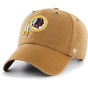 '47 Men's Washington Redskins Carhartt Clean Up Adjustable Brown Hat