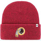 '47 Men's Washington Redskins Brainfreeze Red Cuffed Knit