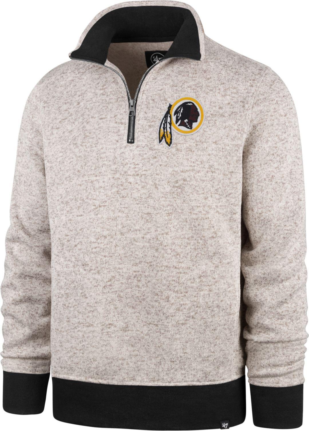 competitive price 7c29d f6010 '47 Men's Washington Redskins Oatmeal Kodiak Quarter-Zip