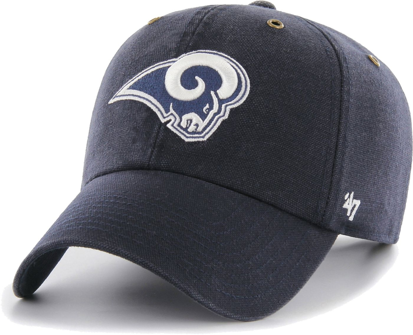 '47 Men's Los Angeles Rams Carhartt Clean Up Adjustable Navy Hat
