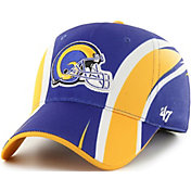 '47 Men's Los Angeles Rams Eclipse Solo Royal Stretch Fit Hat