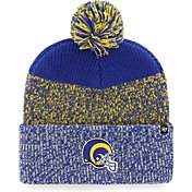 '47 Men's Los Angeles Rams Static Cuffed Royal Knit