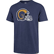 '47 Men's Los Angeles Rams Scrum Logo Legacy Blue T-Shirt