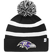 '47 Men's Baltimore Ravens Breakaway Black Cuffed Knit Hat