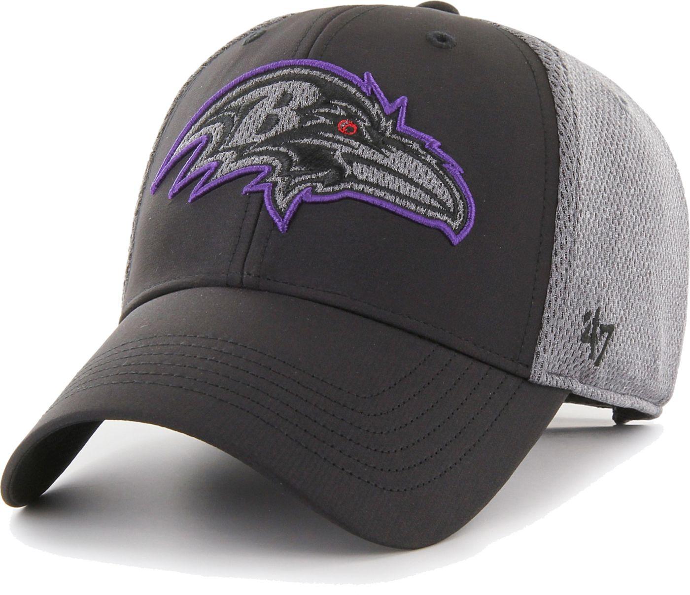 '47 Men's Baltimore Ravens Arlo MVP Adjustable Black Hat