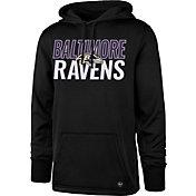 '47 Men's Baltimore Ravens Tech Fleece Black Performance Hoodie