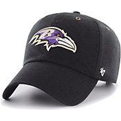 '47 Men's Baltimore Ravens Carhartt Clean Up Adjustable Black Hat