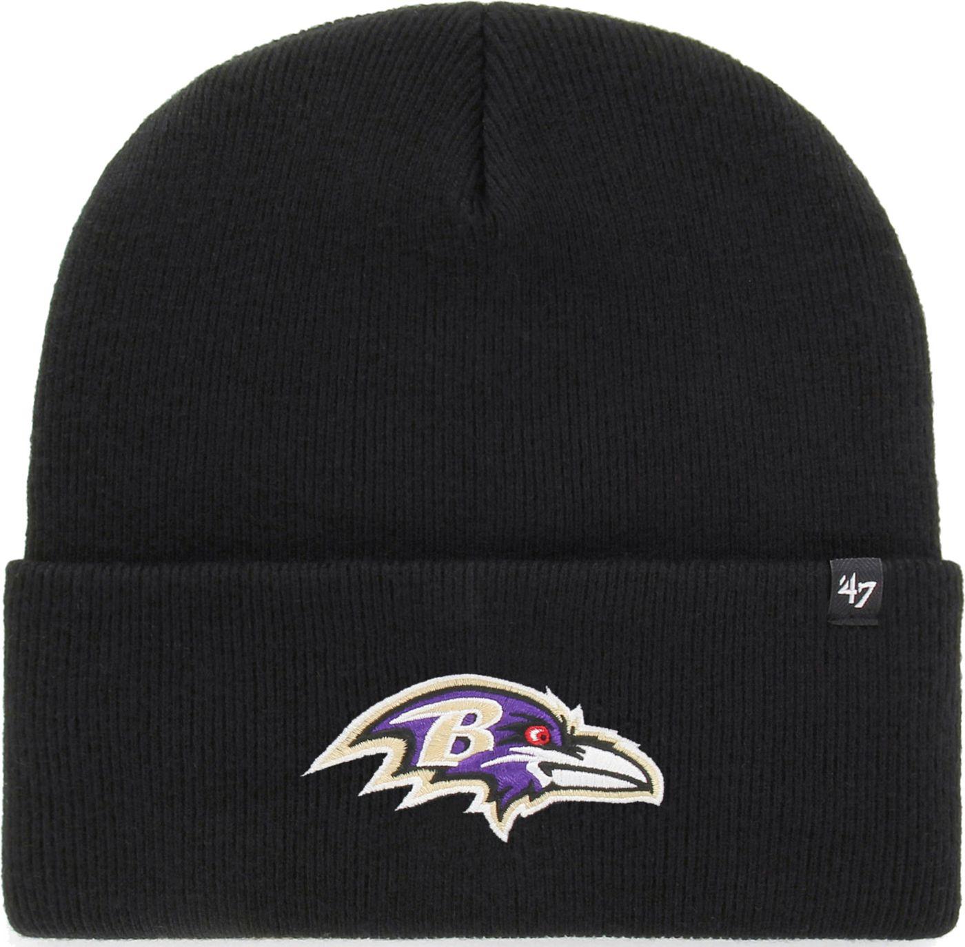 '47 Men's Baltimore Ravens Carhartt Black Knit Hat