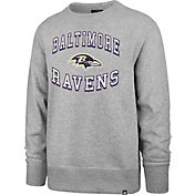 '47 Men's Baltimore Ravens Headline Grey Crew