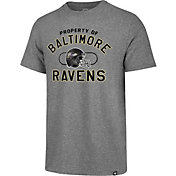 '47 Men's Baltimore Ravens Match Grey T-Shirt