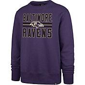 '47 Men's Baltimore Ravens Headline Purple Crew
