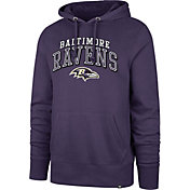 '47 Men's Baltimore Ravens Headline Purple Hoodie