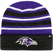 '47 Men's Baltimore Ravens Rotation Purple Cuffed Knit
