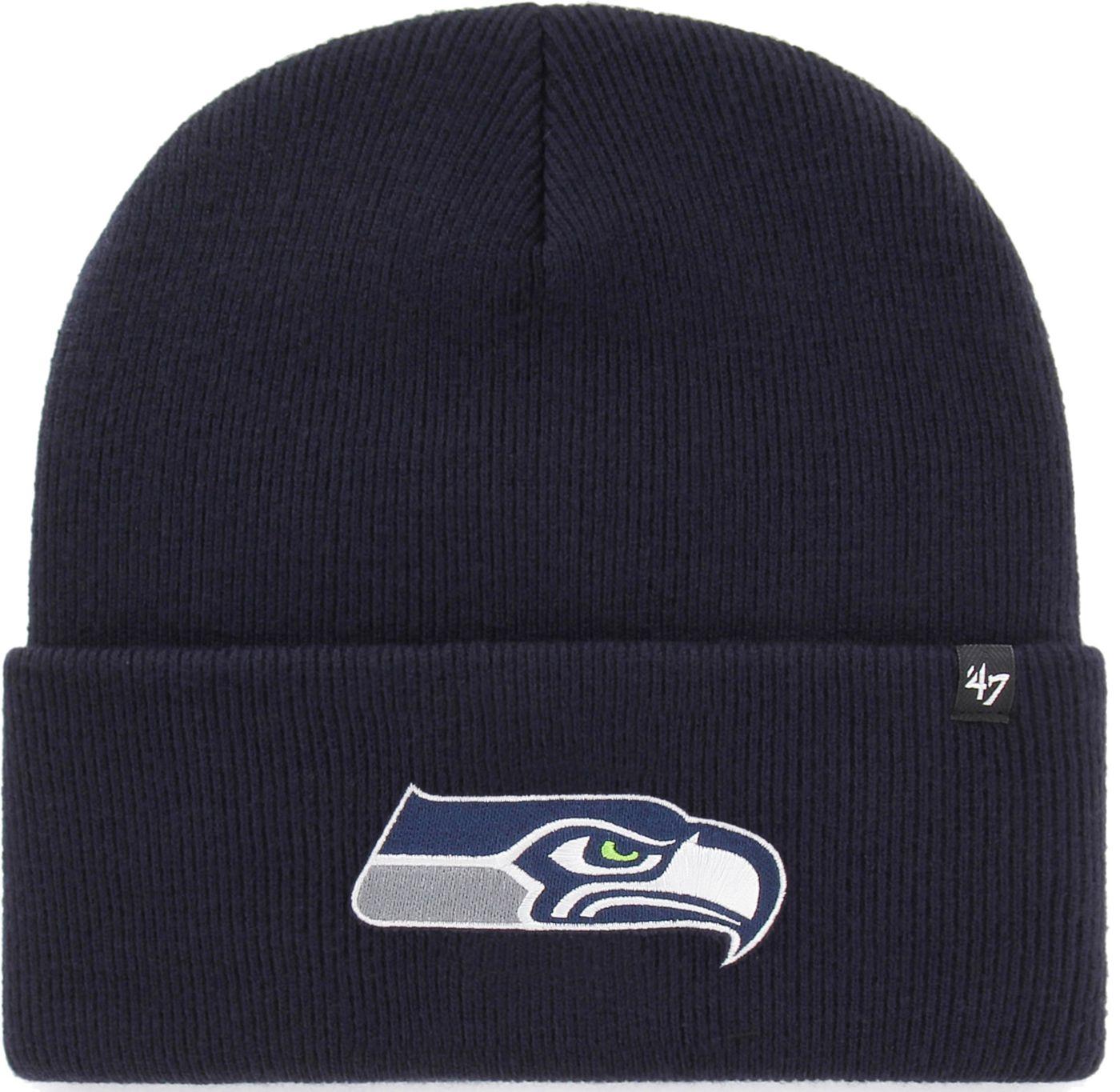 '47 Men's Seattle Seahawks Carhartt Navy Knit Hat